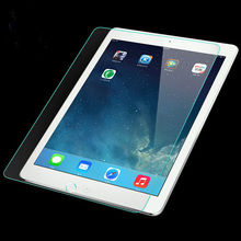 Anti-Fingerprint Anti-shock for cell phone Tempered Glass Screen Protector for ipad mini