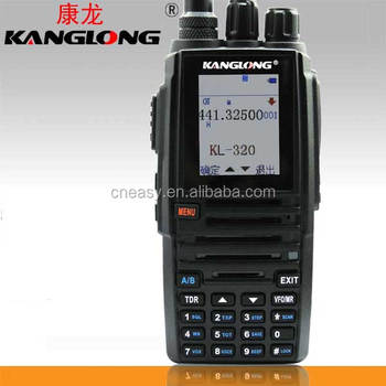 KL-320 Colourful Display Walkie Talkie Dual Bands BCL Group Call Ham Radio for Sale