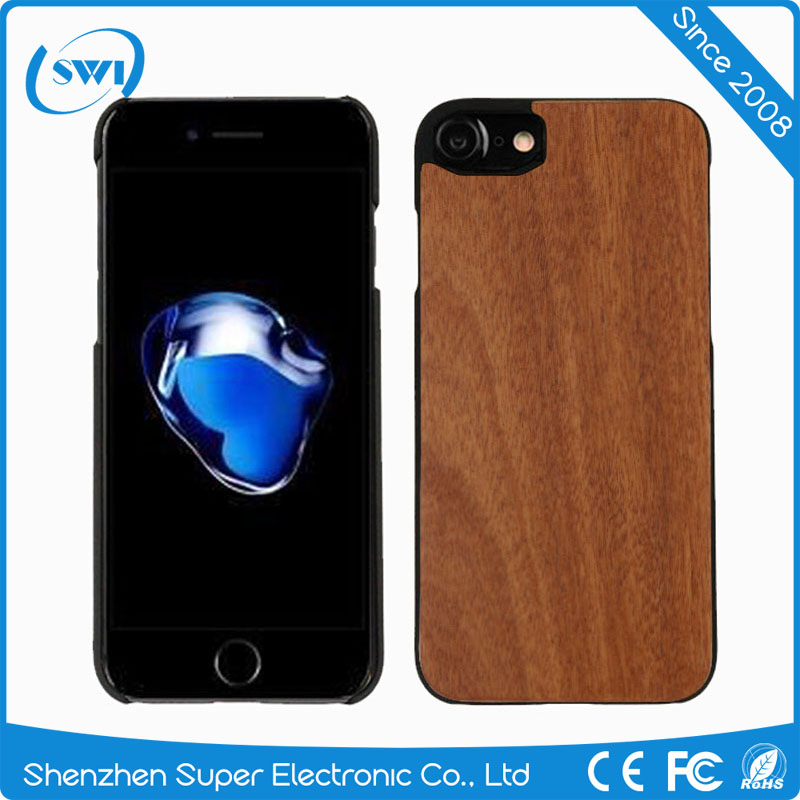 2017 new products shockproof cell phone case wood phone case for iphone 7