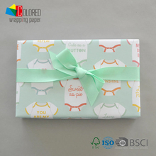 Baby Clothes Printing Gift Wrapping Paper