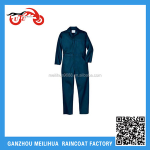2016 Dubai Navy Microporous Flame Retardant Clear Plastic Paintball Working Coverall