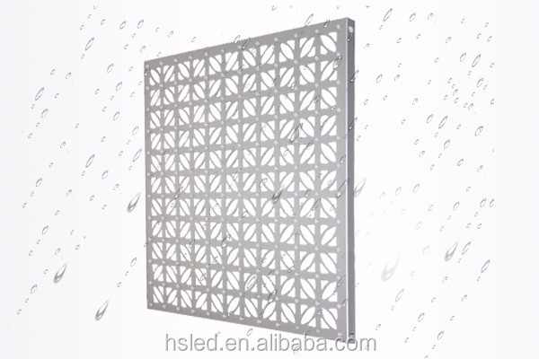 P40 Outdoor Decorative Aluminum Led Mesh Curtain Screen(4096 gray scale serial)