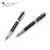 March Expo Factory Promotional Office Stationery Black Color Metal Roller Gel Pen Set