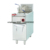 Stainless steel solon automatic egg fryer table top gas deep fryer oven fryer