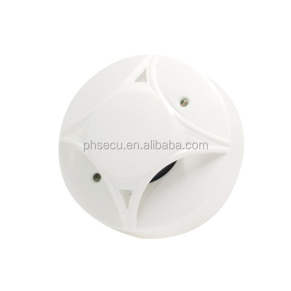4-wire Conventional Smoke & Heat Detector Conventional Multi Sensor with Relay output Smoke alarm Heat alarm