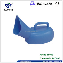 1L home use blue urine bottle for female