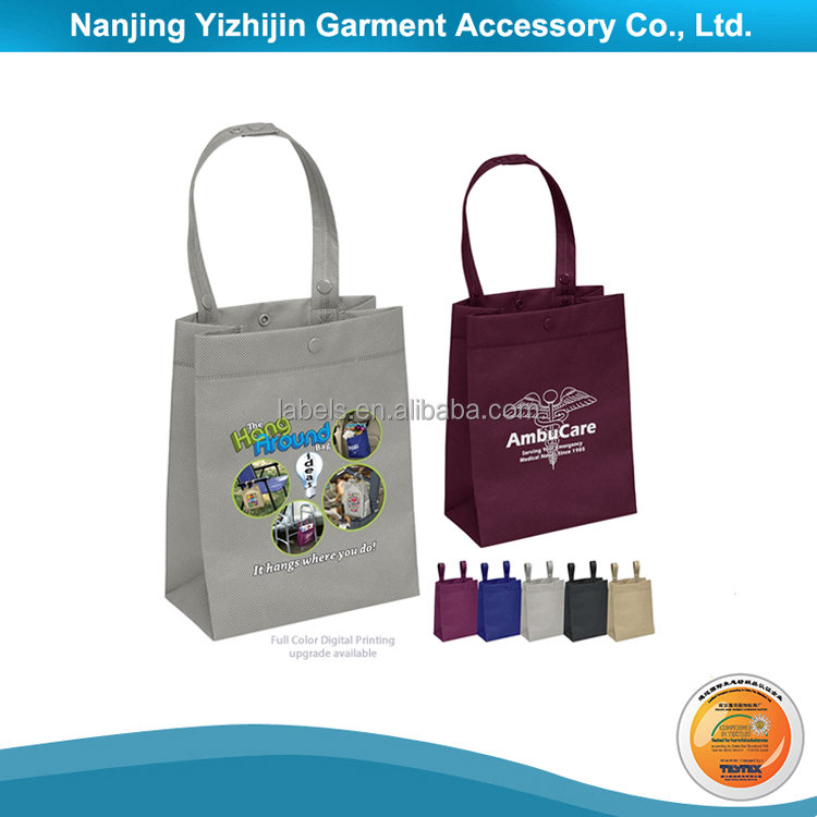 Cotton Canvas Shopping Bag with Heat Transfer Logo
