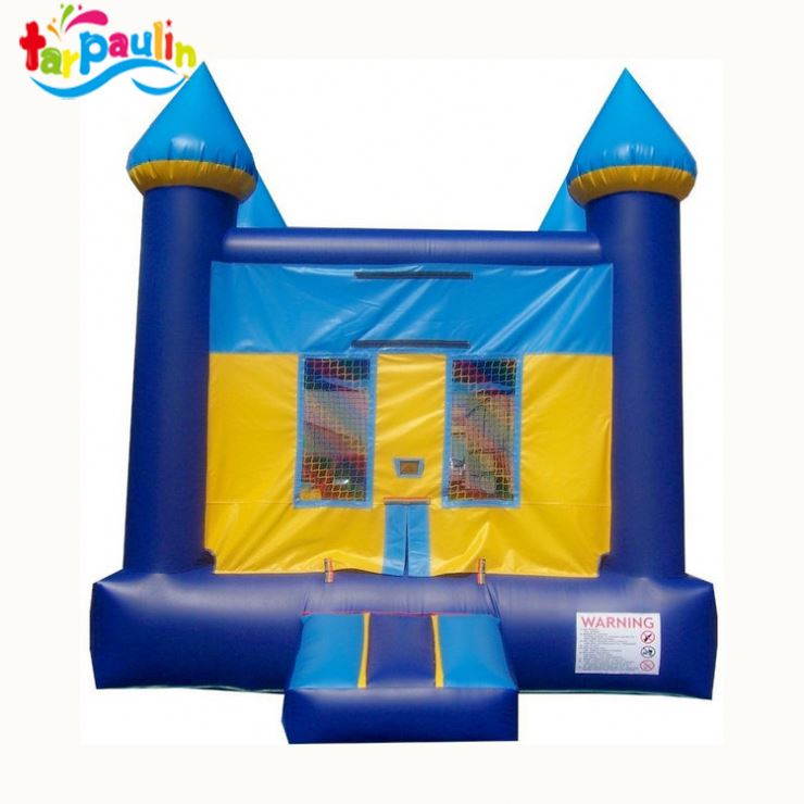 holiday custom made lovely inflatable party castle for sale