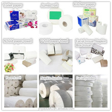 raw material for toilet roll, jumbo roll. napkin