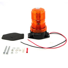 Amber/Blue Color LED Rotating Warning Beacon Light /Strobe Flashing Warning Light