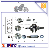For ITALIKA TC200 engine parts crankshaft component for motorcycle