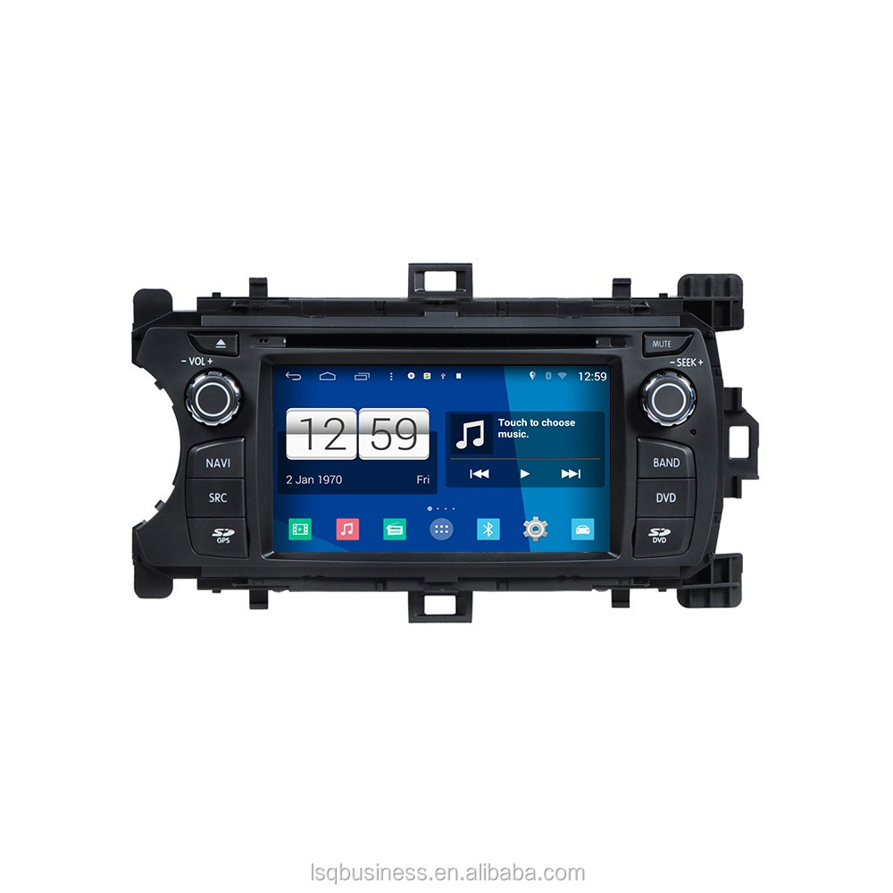 LSQ Star High quality Car audio for Toyota Yaris 2012 with dvd navi RDS Bluetooth ipod SWC USB SD