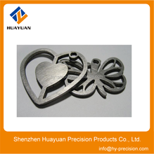 High quality stainless steel laser cutting parts stamping service