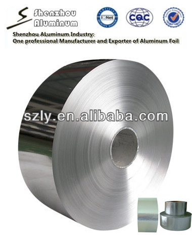 Aluminium Foil jumbo roll for Adhesive Tapes