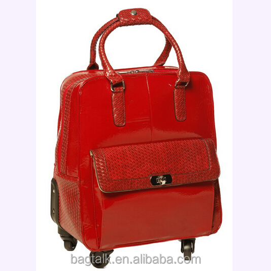 LT0167 Hot Selling Trolley Ladies Rolling Laptop Bag Good Quality