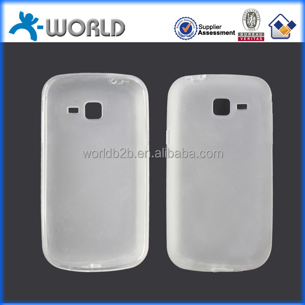 Smooth touch gel tpu protective cell mobile phone cover for samsung core I8260