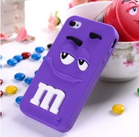custom silicone rubber phone case for iphone 5