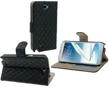 Magnetic Wallet Stand PU Leather Case Cover For Samsung Galaxy Note 2 N7100