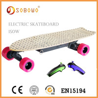 2015 Powered adult electric skateboard Smart Cool Design Skate Board China Supplier