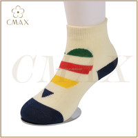 Latest style colourful cartoon children cotton socks , low price cotton baby socks