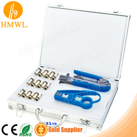 Coaxial F Connector Tool Set Kit