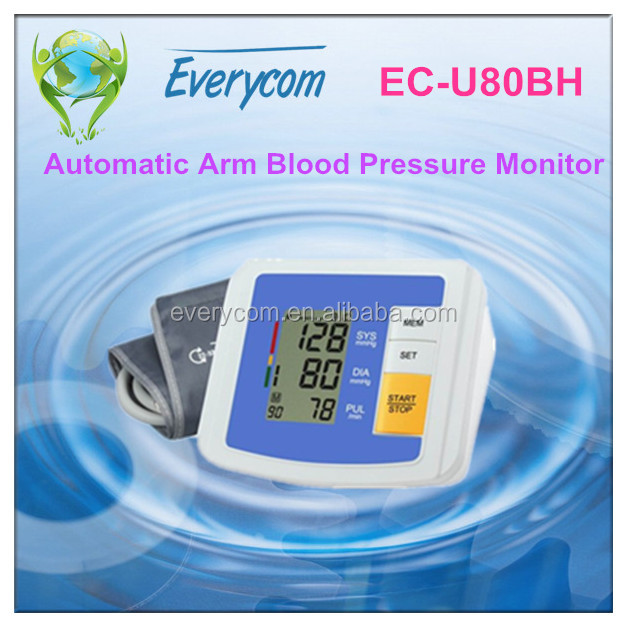 Medical and Home Use DC6V Adapter Digital Blood Pressure Apparatus