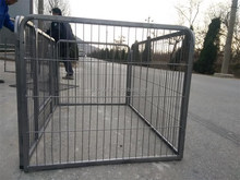 low price chain link dog kennel/dog house/portable dog cage