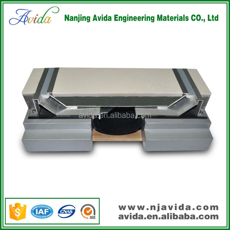 aluminium floor seismic expansion joint gap materials