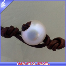 NK-00078 China factory fashion design tin cup pearl necklace