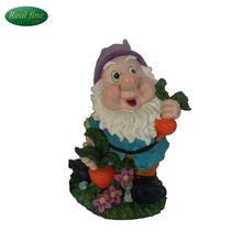 Customized Resin Gnome Figurine Garden Ornament
