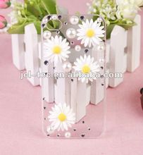 Daisy diamond stone bling case for iphone 4