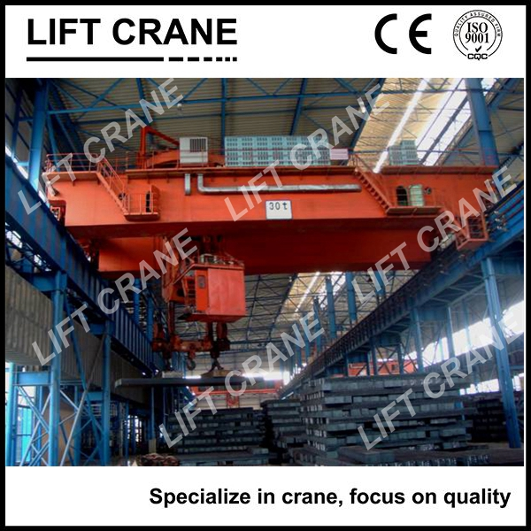 top quality foundry overhead crane for steel plant