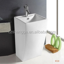 best price fast production leadtime ceramic stand alone sink