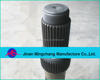 Mingchang Supply Forging Processing Heavy Truck Spare Parts Transmission Input Shaft