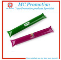 colorful cheap pe inflatable ballon cheering make bang stick