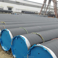 TSX-GI169 q235 q345 SSAW carbon steel spiral welded pipe gas and oiled pipe
