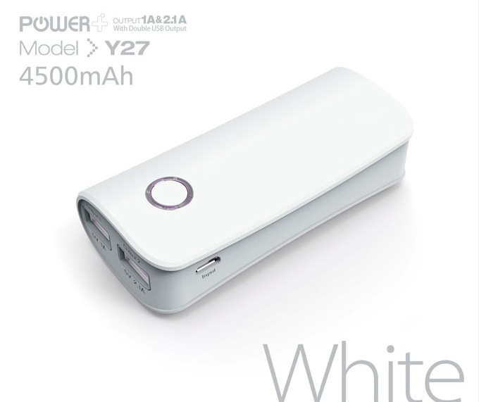 Ergonomic design power bank and comfortable for palm 5200mah