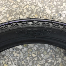 Alibaba CHINA factory vehicle tubeless tires and tube motorcycle tyre 2.75-17 front tyre for sale
