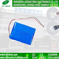 103040 7.4V 1800mAh polymer lithium ion battery pack UPS,Mobile phone, Laptop, Digital Products, Camera