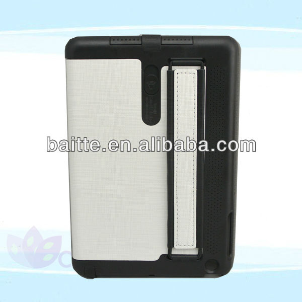 Superior leather case for ipad mini with arm band and loud speaker original Gsource designer for iPad mini kid