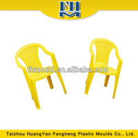 plastic chair mould, armed chair four leg in slider mould