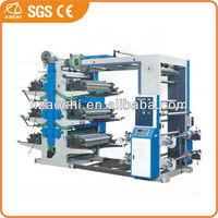 6 Colors Flexo Printing Machine for paper and film
