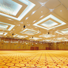 Wall to Wall Hotel Banquet Hall Wool Axminster Carpet