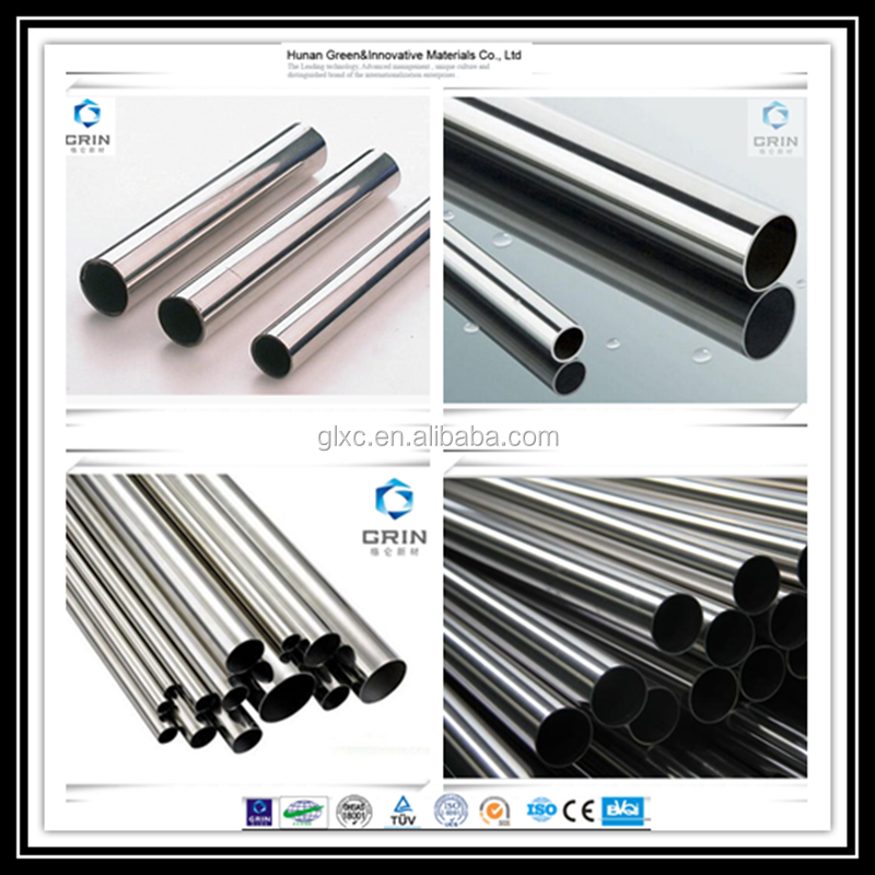 2015 China manufacture 316 stainless steel pipe with best price list