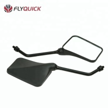 ZF001-80 FLYQUICK OE Parts for SUZUKI AX100,Universal aftermarket scooter plastic motorcycle rear view black side mirror