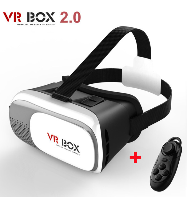 New Virtual Reality VR BOX II 2.0 Version 3D Glasses Google Cardboard VR Glasses 3D Video Movie Game For Smartphones 3.5-6 inch