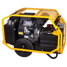 Small Foldable Mobile Hydraulic Power Packs with big volume oil tank