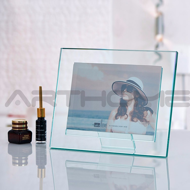 funny sexy girl frosted glass photo frame free sample