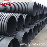 New Raw Material PE100 DWC Corrugated Pipe With Best Quality