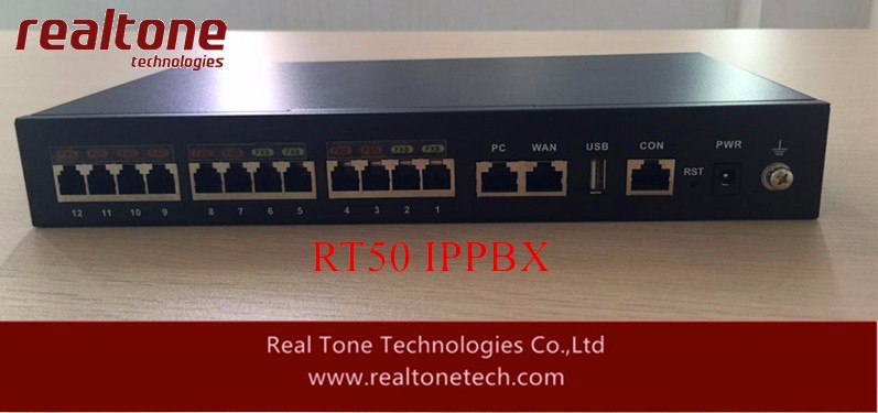 IP PBX with 10 FXS+2FXO port SIP Server inside